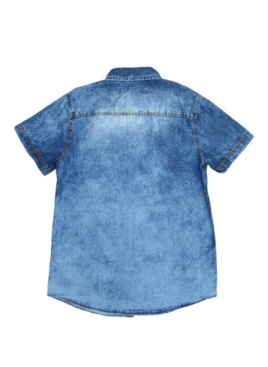 Funky Rocks Gömlek Mavi